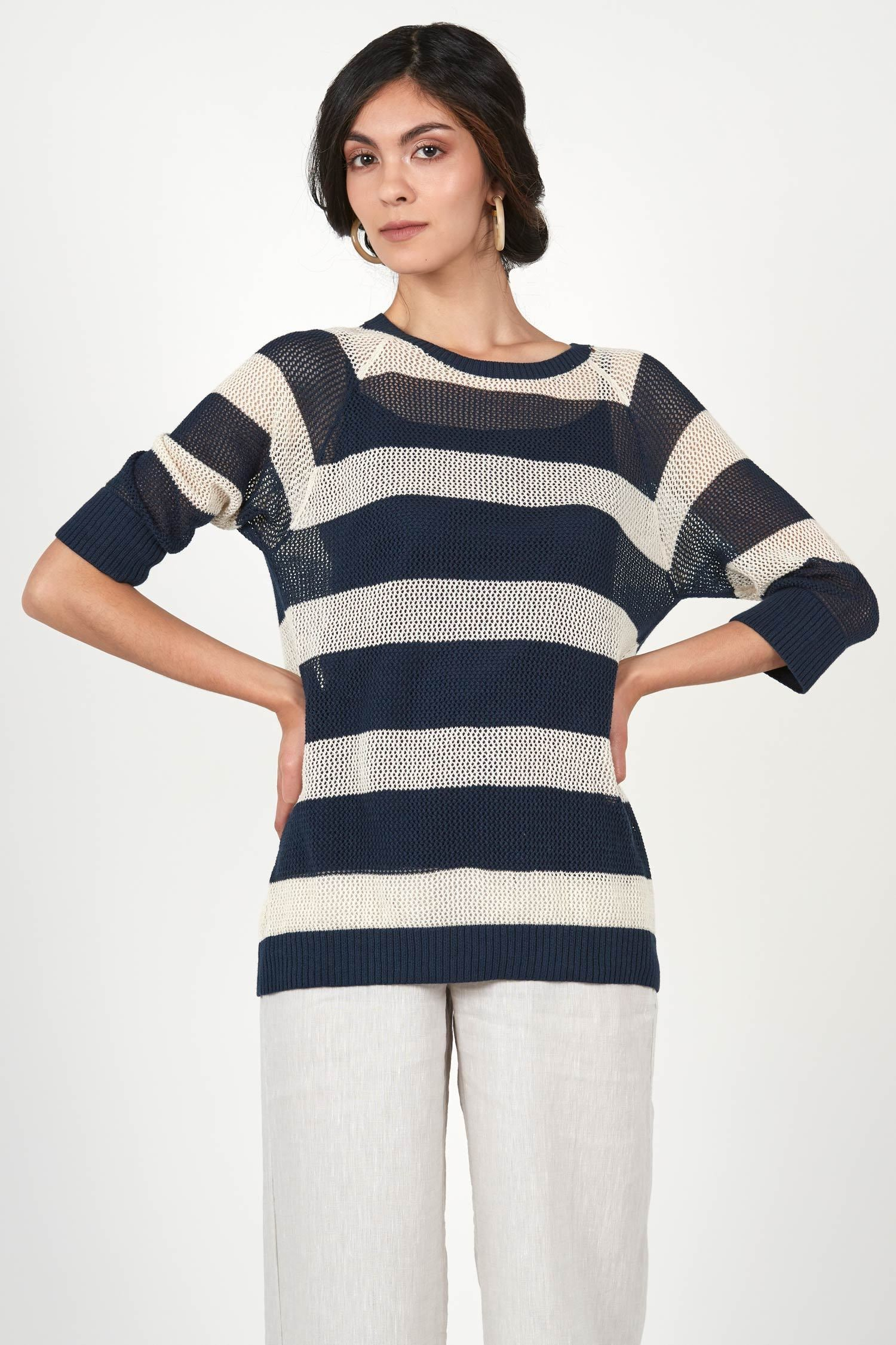 Seaside Stripe Pullover