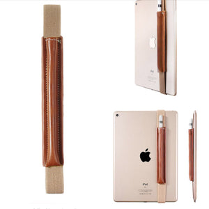 """Van Gogh"" Premium Leather Stylus Holder for iPads/Tablets"