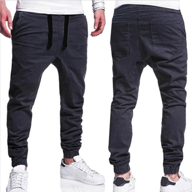 """Worker"" High Quality Cotton Chino Sweatpants"
