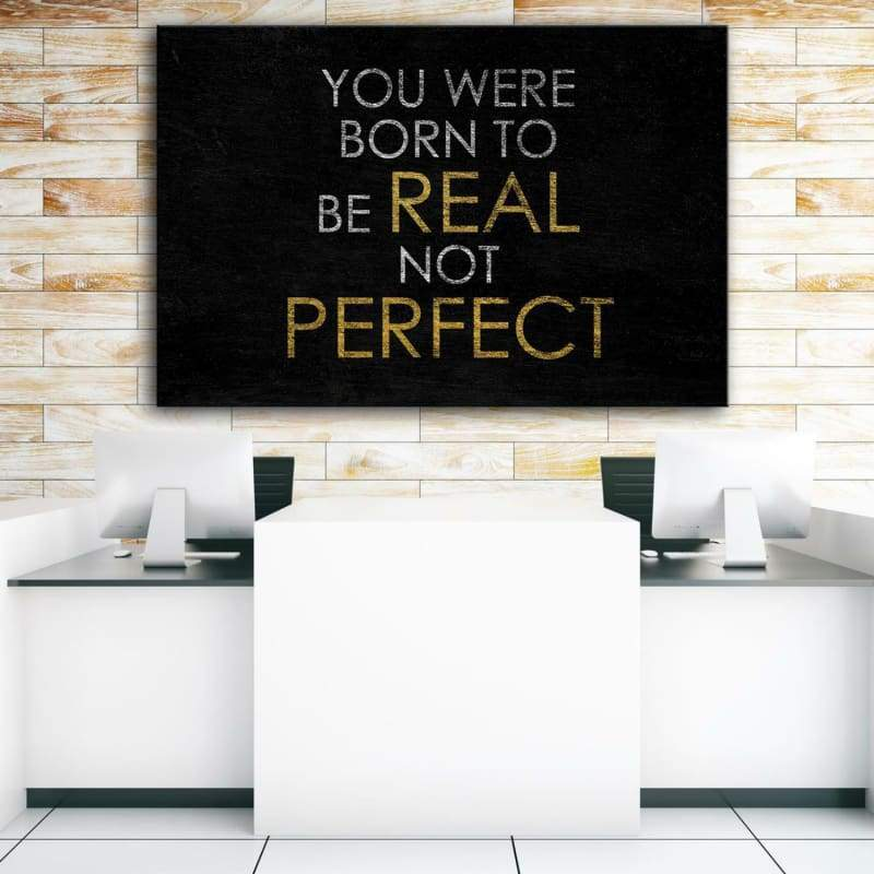 You Were Born - Framed Canvas Painting Wall Art Office Decor, large modern pop artwork for home or office, Entrepreneur Inspirational and motivational Quotes on Canvas great for man cave or home. Perfect for Artwork Addicts. Made in USA, FREE Shipping.