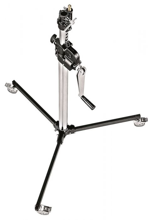 Manfrotto Stativ Wind-Up Low Base/Räder - Kampro-Shop