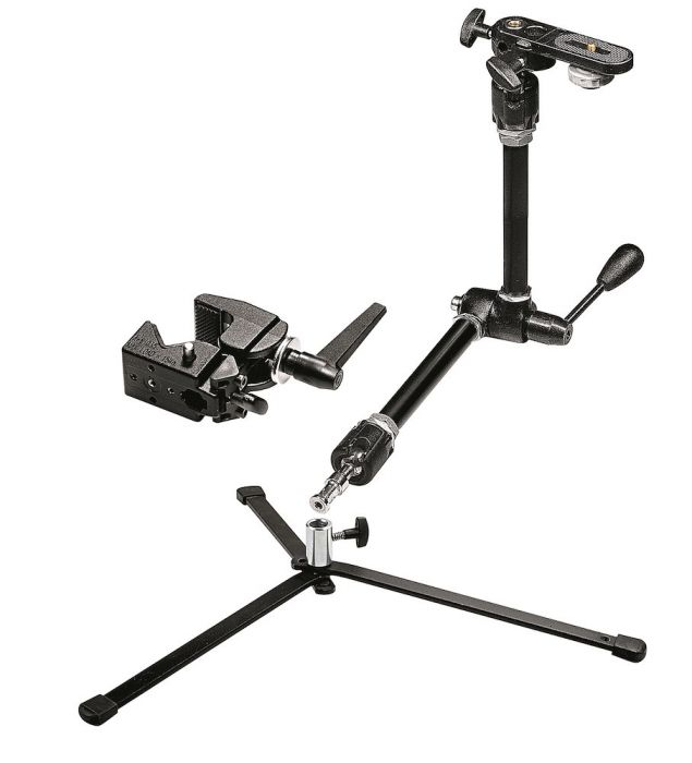 Manfrotto Magic Foto-Arm Set, Aluminium mit Verriegelungshebel - Kampro-Shop