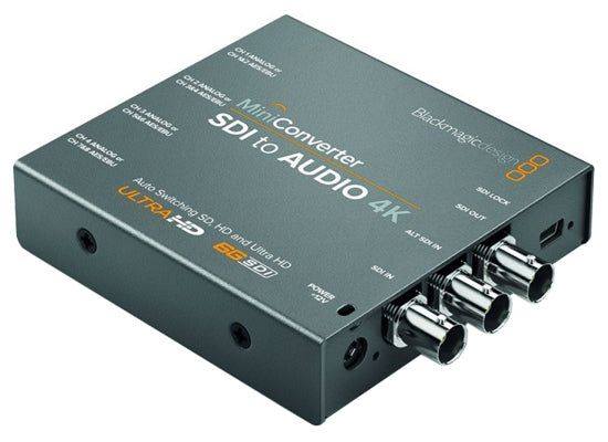 Blackmagic Design Mini Converter SDI / Audio 4K - Kampro-Shop