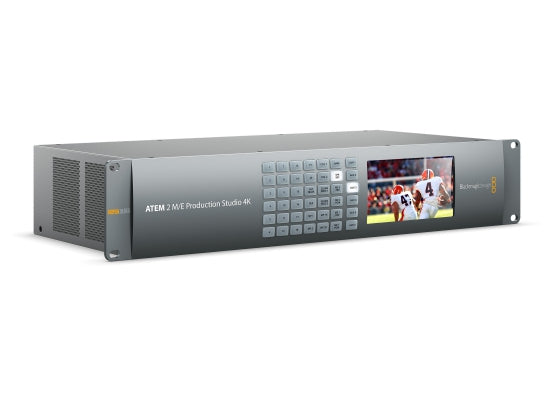 Blackmagic Design ATEM 2 M/E Production Studio 4K Mixer - Kampro-Shop