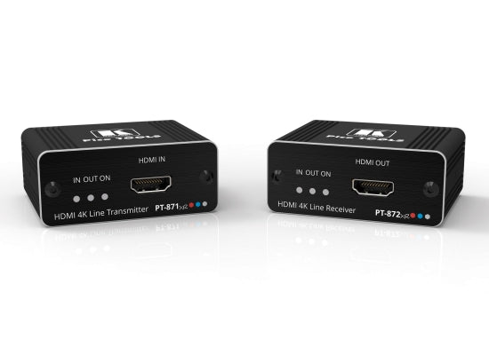 Kramer PT-871/2XR-KIT 4K HDR HDMI Repeater / Übertrager - Kampro-Shop
