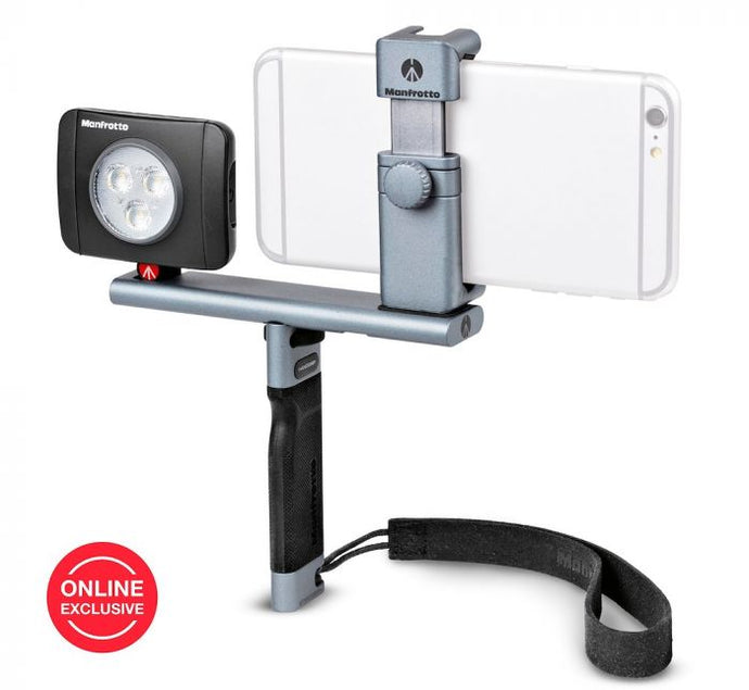 Manfrotto TwistGrip Advanced Kit für die Smartphone-Fotografie - Kampro-Shop
