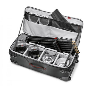 Manfrotto Pro Light Trolley LW-88W-2 für Lichtstative, Blitz etc, - Kampro-Shop