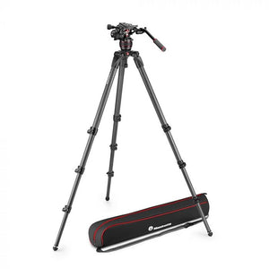 Manfrotto Nitrotech 608 Carbon Video-Stativ - Kampro-Shop
