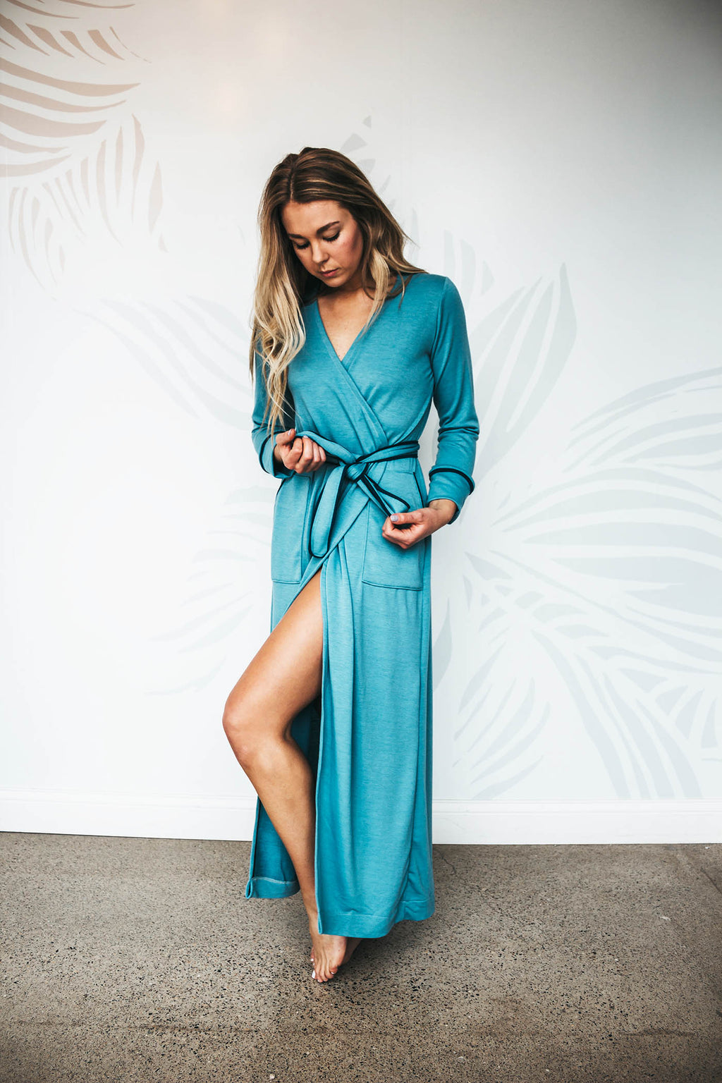 Soft Teal Robe