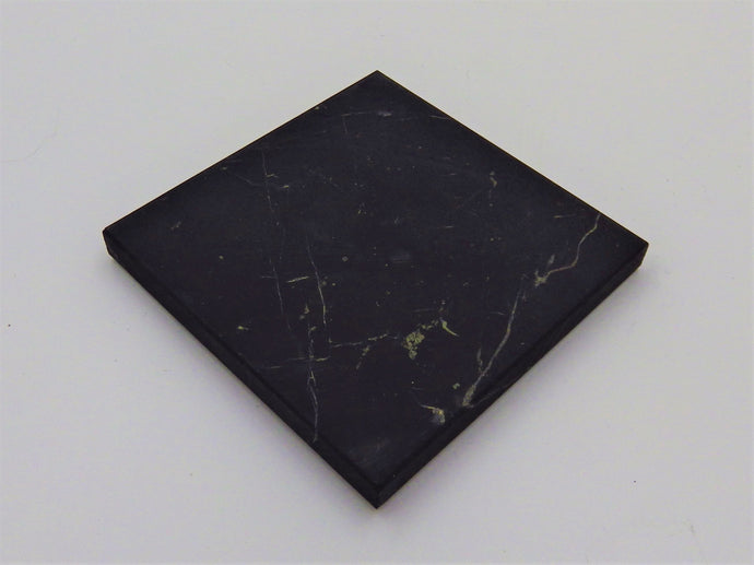 Shungite  Stone Tablet 4'' x 4''