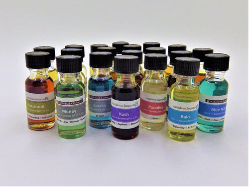 Aroma Oils for Room Diffusers - One Bottle 10ml (43 scents available)
