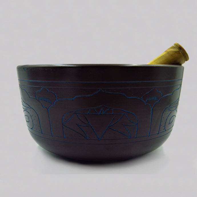 Dark Lightweight Singing bowls