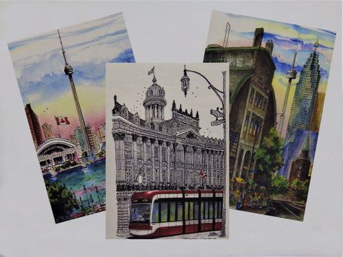 Canada Paintings Cards