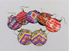 Load image into Gallery viewer, Colorful Pattern Earrings