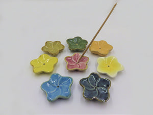 Flower Ceramic Incense Burners