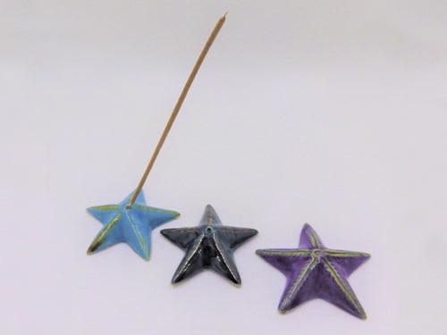 Star Ceramic Incense Burners