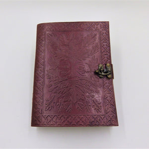 Single Clasp Leather Journal