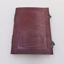 Load image into Gallery viewer, Double Clasp Leather Journals