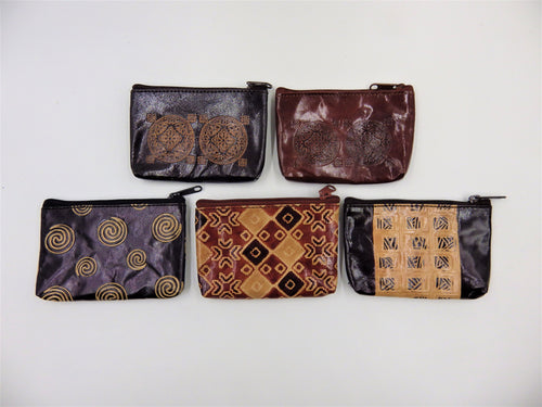 Leather Cards & Change Purse