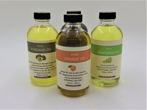 Oils Variety - 250ml / 8fl oz