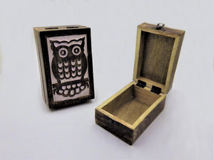 Owl Wooden Box