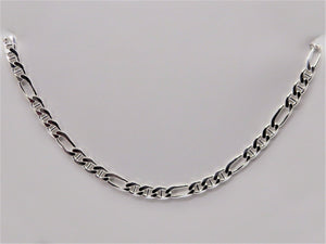 Silver Chains - Figaro  Collection
