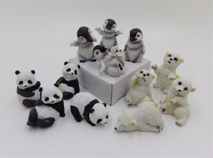 Miniature Animal statues 3""