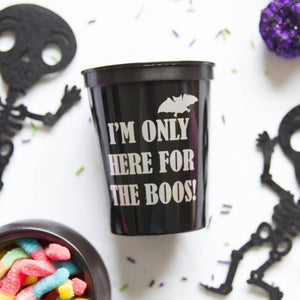 Here for the Boos Stadium Cups - Holiday Hostess