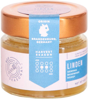 Linden - Organic German Linden Blossom Honey - Holiday Hostess