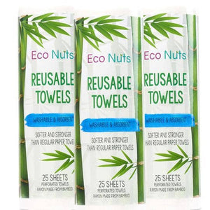 Roll of Reusable Towels - Holiday Hostess