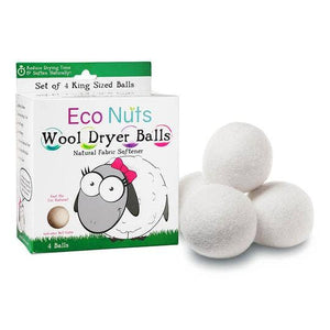 Wool Dryer Balls - Set of 4 - Holiday Hostess