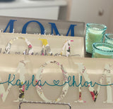 Personalized Family Plaques - Holiday Hostess