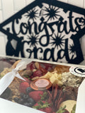 Graduation Grazing Box With Sign - Holiday Hostess
