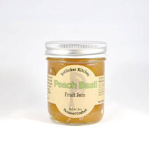 Potlicker Peach Basil Fruit Jam - Holiday Hostess