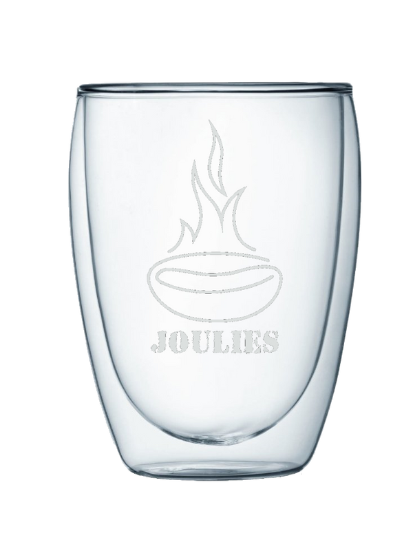 Joulies Double Wall Glass Mug