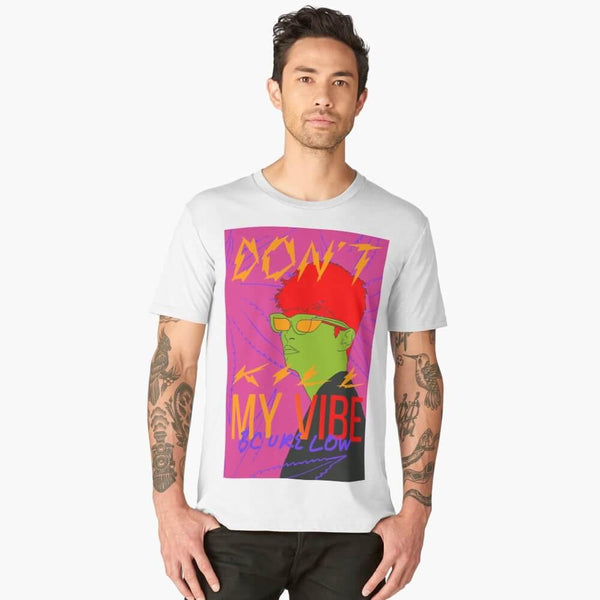 Camiseta R I C H® ST - Don't Kill My Vibe BC U're Low - Limitada