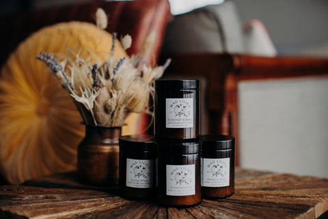 Mad Lilies jar candles
