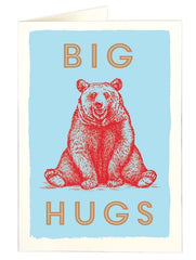 Big Hugs Father's Day card