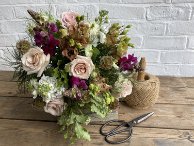 Flowers online for click & collect & delivery