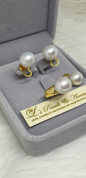 10mm White South Sea Pearl Set