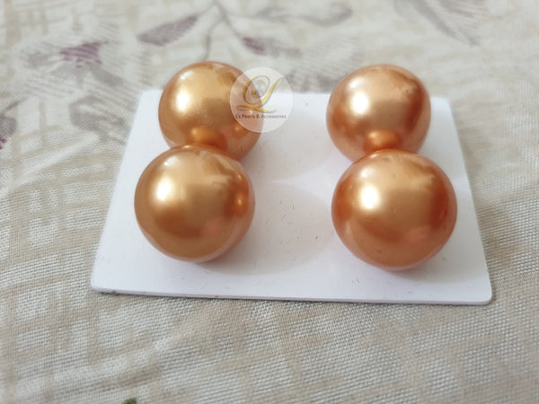 15mm Loose Golden South Sea Pearls