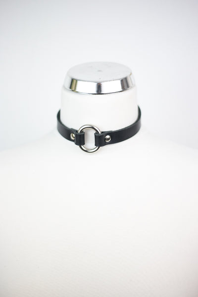 Oval Ring Choker