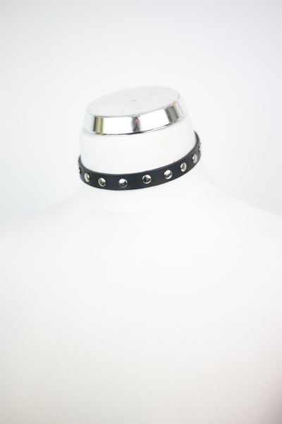 Studded Choker Mini