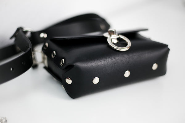 Double Trouble Bag- Black mat