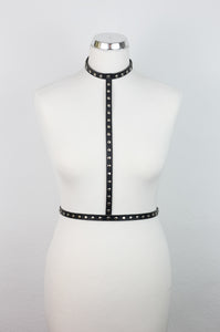 Simple Beauty Harness with the rivets
