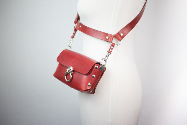 Double Trouble Bag- RED LIMITED EDITION