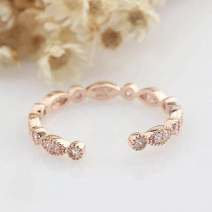Simulated Diamond Wedding Band Matching Rings Personalized Ring Gifts For Her