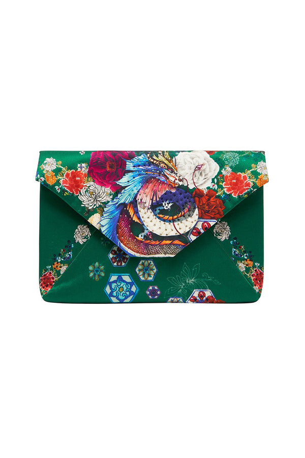 EMERORBI Envelope Clutch