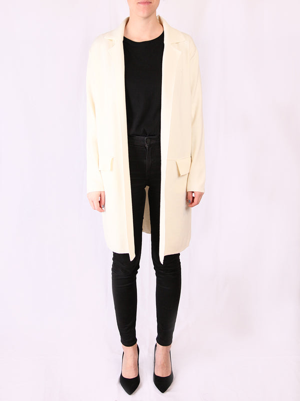 Lili&Lala Long Jacket Ecru