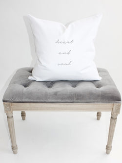 Heart and Soul Pillow Cover